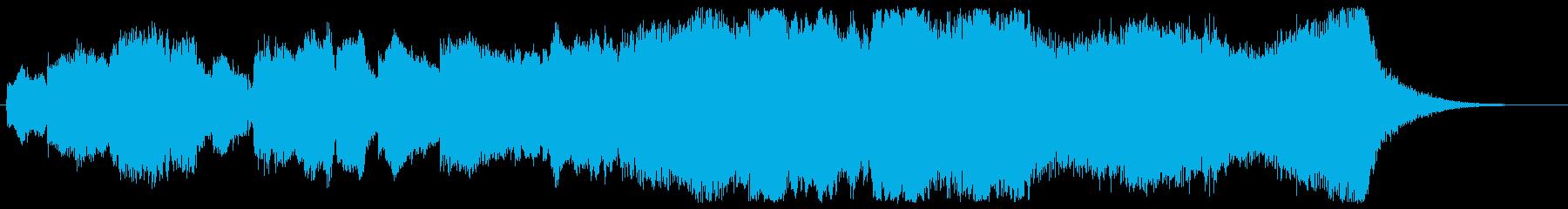 雄大なファンファーレ 大地のイメージの再生済みの波形