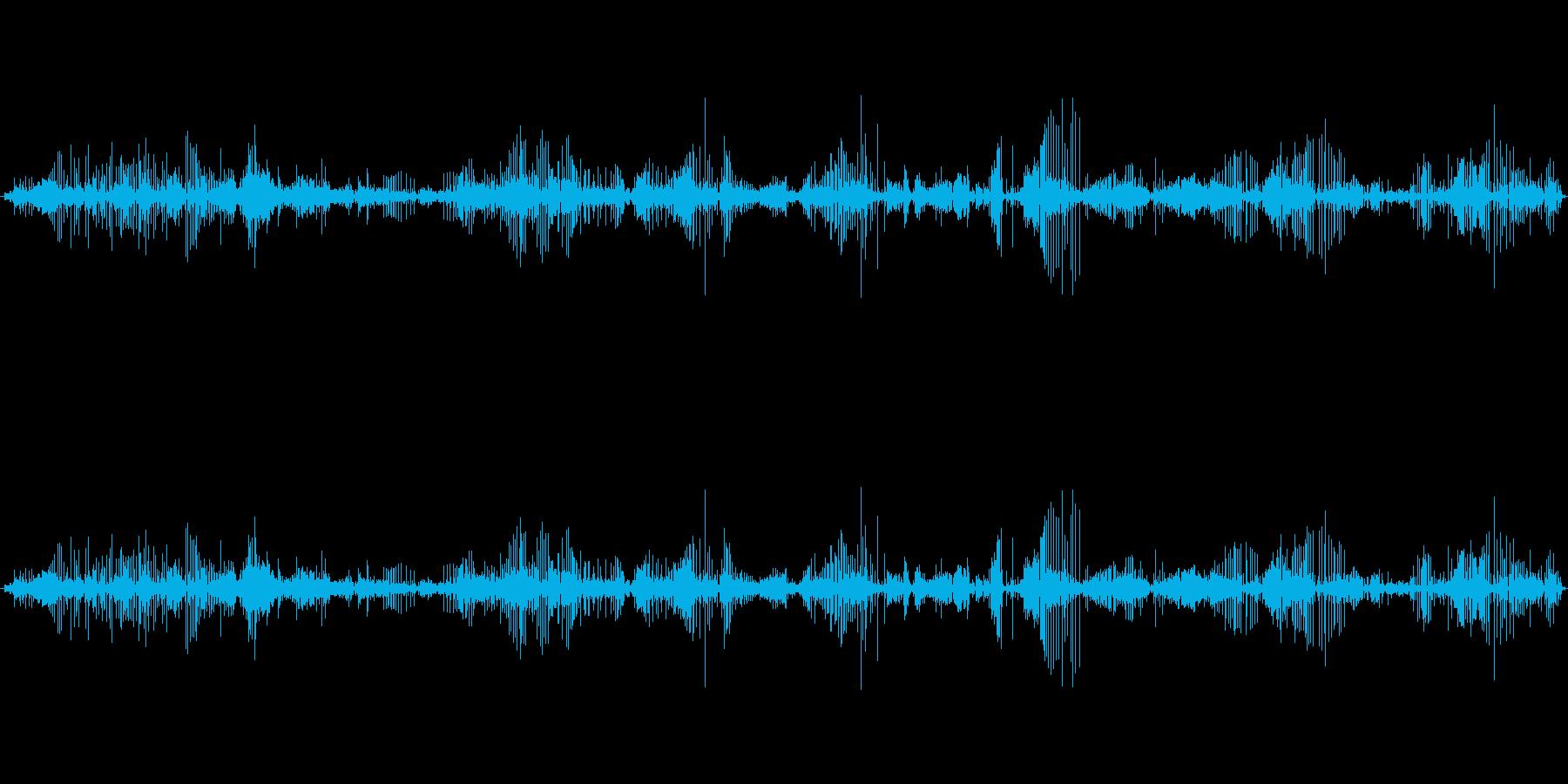 レザー レザーブートクリーク03の再生済みの波形