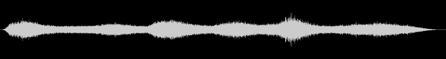 スローモーション_発動中の未再生の波形