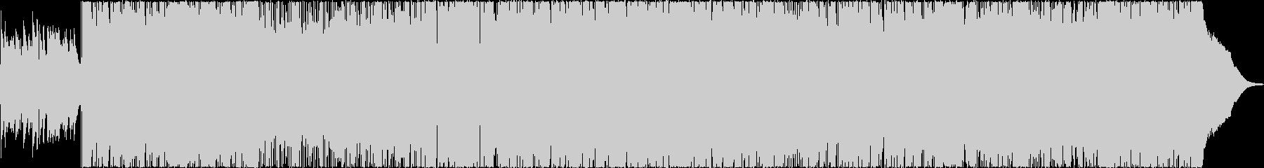 クールでブルージィなポップロックの未再生の波形