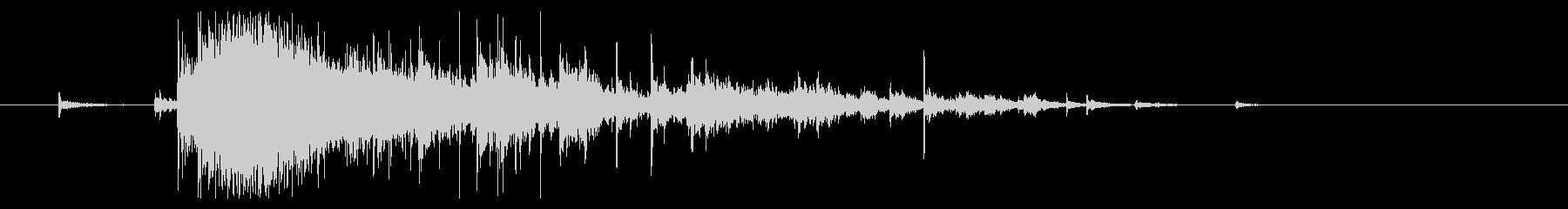 【生録音】お風呂 水の音 12 湯船出るの未再生の波形