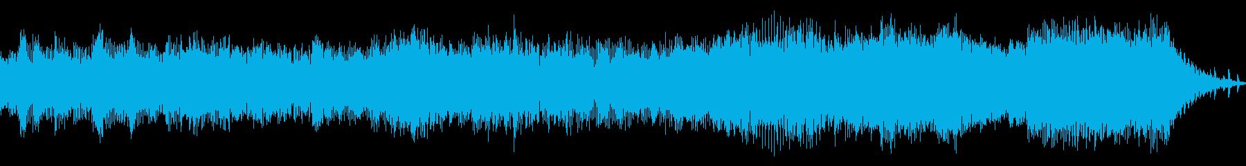 待っている音楽、ピクセルスタイル。...の再生済みの波形