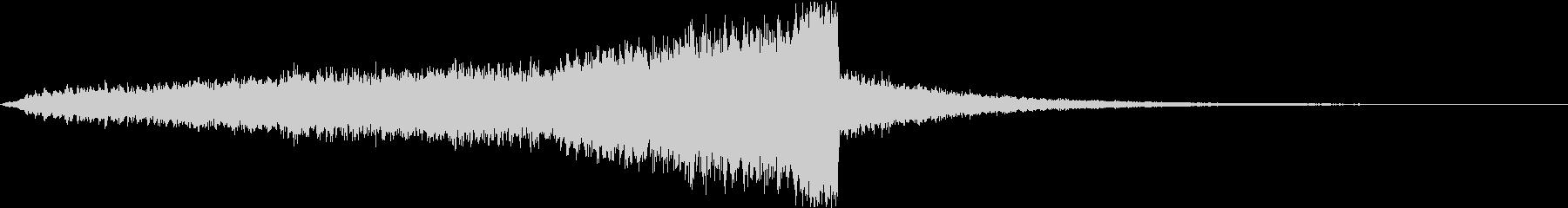 高品質なCINEMATICサウンドの未再生の波形