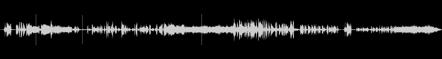 ベルギーのラジオスキャンの未再生の波形