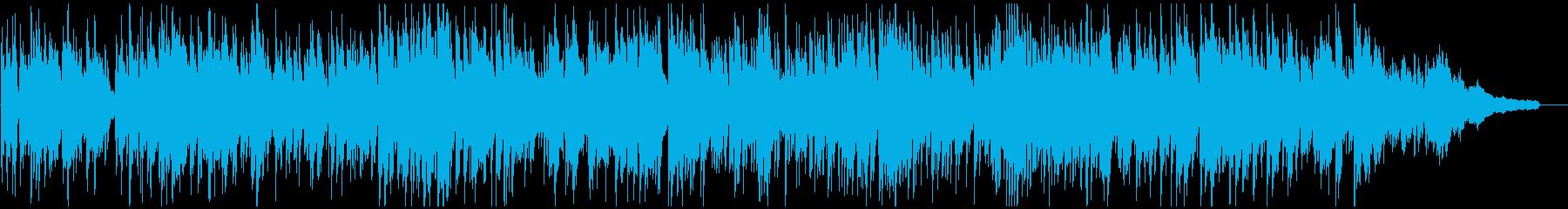 初夏の涼し気なボサノバ・ジャズ、サックスの再生済みの波形