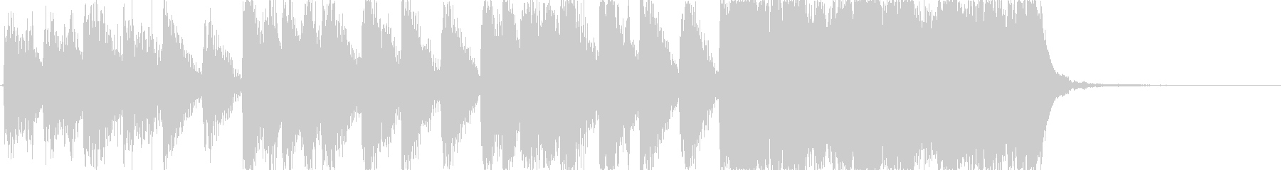 ゲーム等に最適な、少し長めのファンファ…の未再生の波形