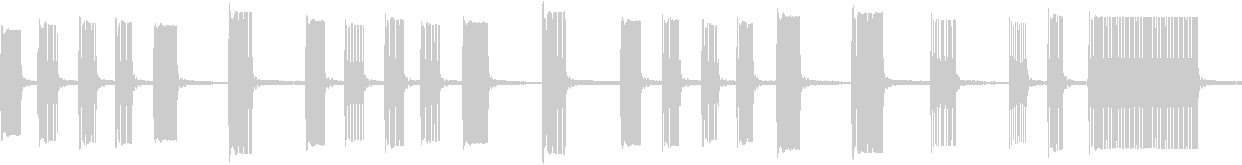 ファミコン 気の抜けた シンプルの未再生の波形