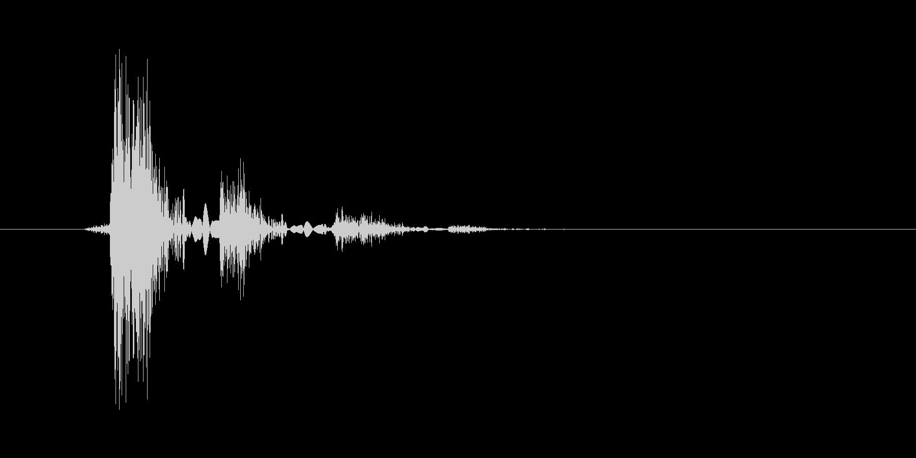 ノイズ系キャンセル音1の未再生の波形