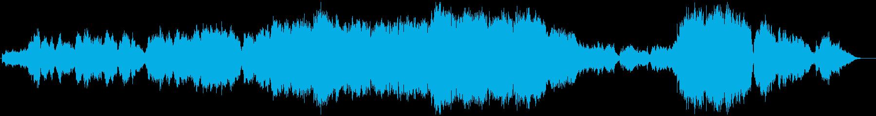 生演奏フルートとトランペット感動バラードの再生済みの波形