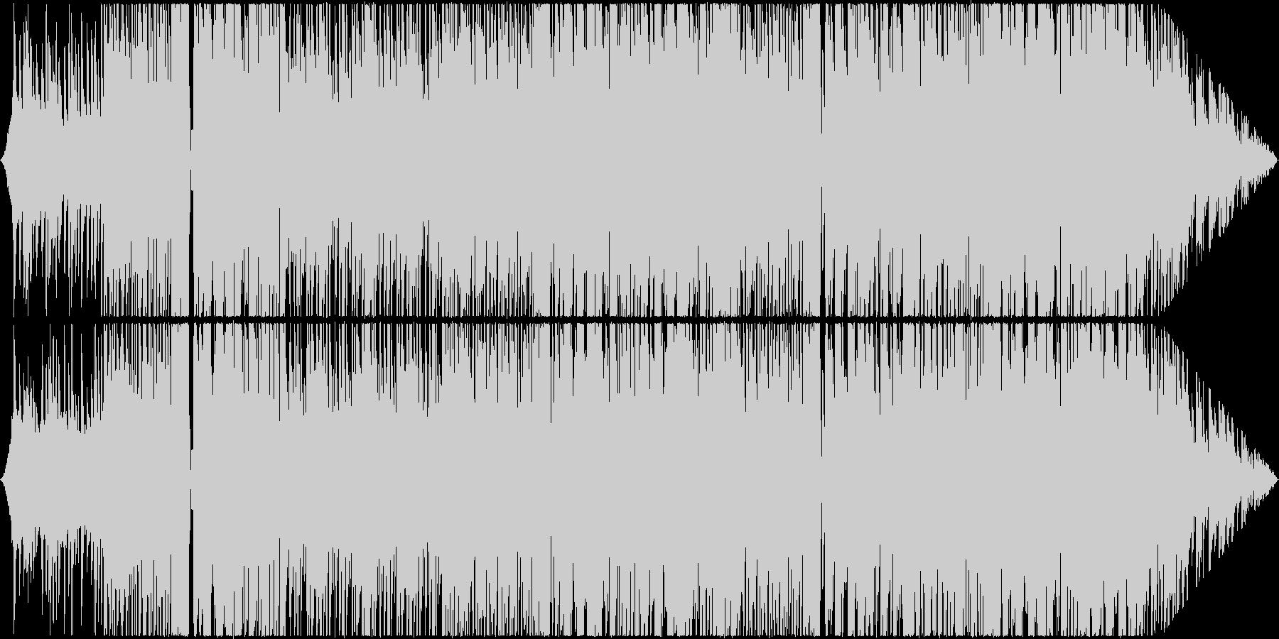 ポップでキュートなFuture Bassの未再生の波形