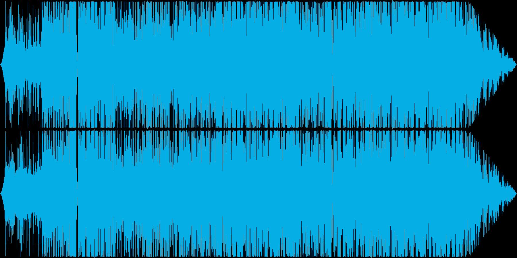 ポップでキュートなFuture Bassの再生済みの波形