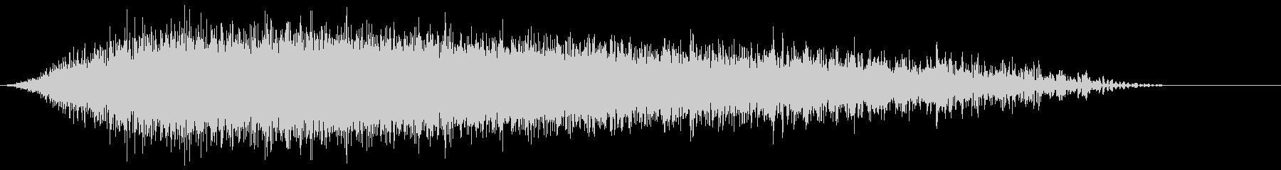 メタリックシンバルフーシュ2の未再生の波形