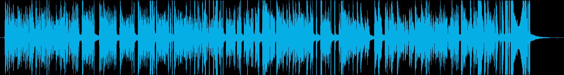 トロンボーンのジャズスタジオ。音階。の再生済みの波形