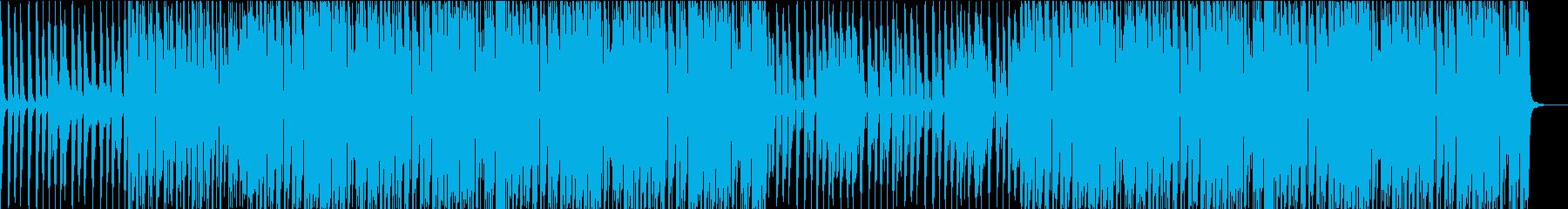 ドライブで海辺を駆け抜けるような曲の再生済みの波形