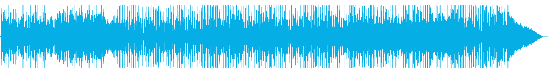 軽快に弾む楽しげなポップサウンドの再生済みの波形