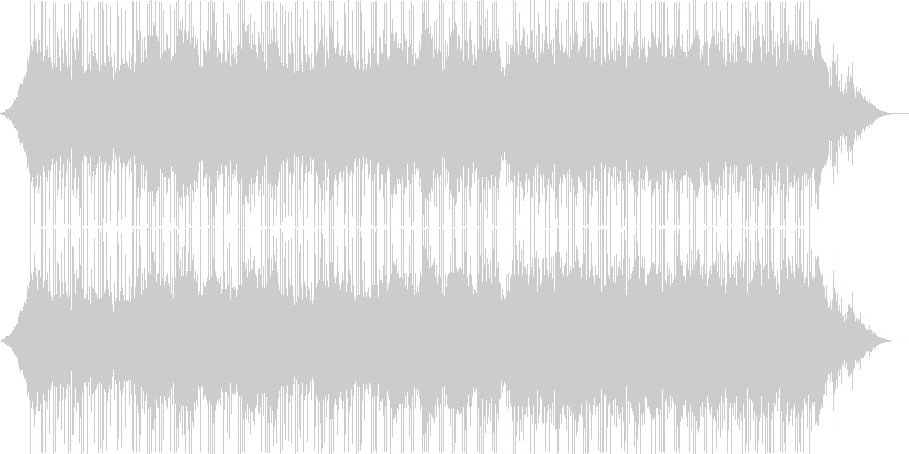 インストルメンタルライトロック。ピ...の未再生の波形