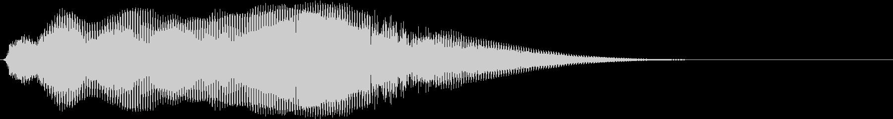 ダークな雰囲気_Fの未再生の波形