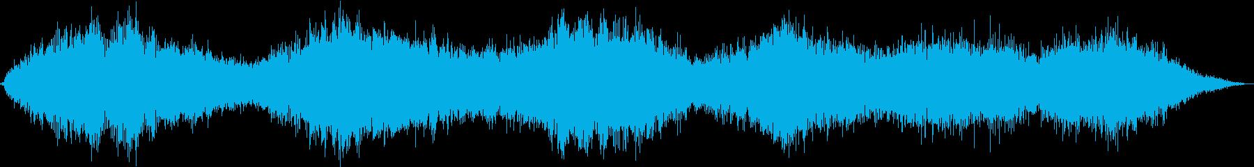 エリー音色効果のあるスパイラルデン...の再生済みの波形