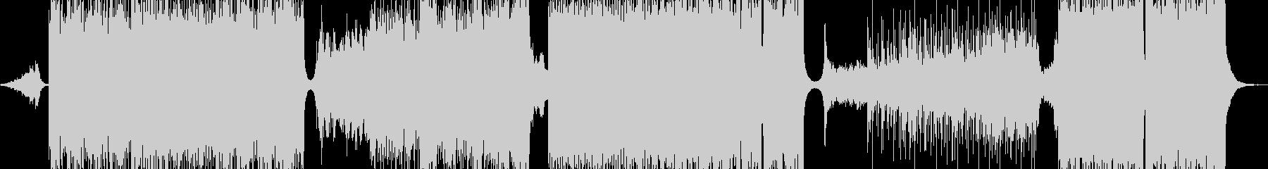 蚊・イライラバトルに突入するイメージの未再生の波形