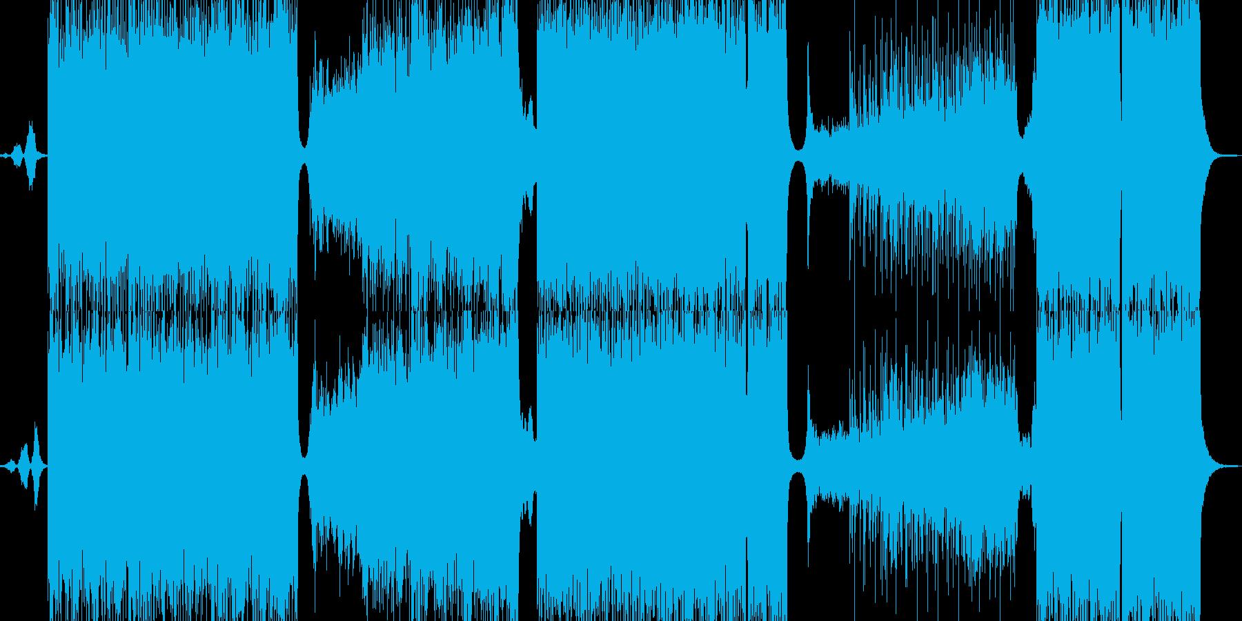 耳元に寄り付くイライラの壮絶なバトルの再生済みの波形