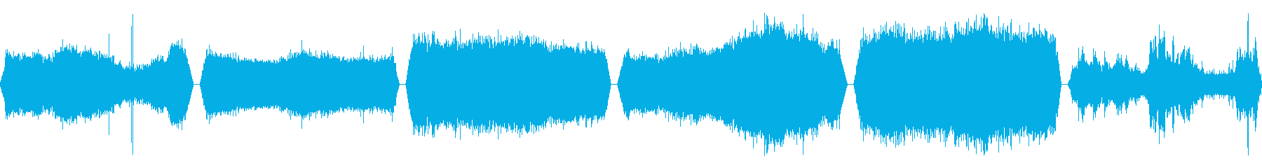 風、風、6バージョン; DIGIF...の再生済みの波形