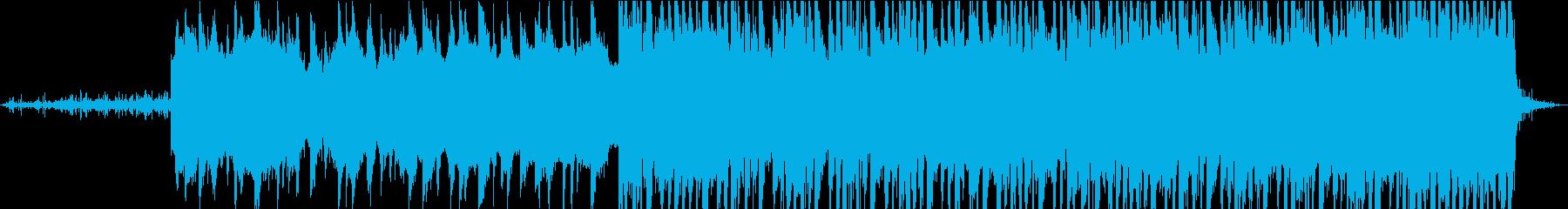 暗くて不気味なビッグビートのトラッ...の再生済みの波形