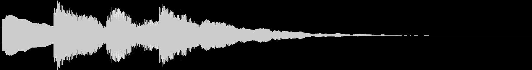 動画テロップ12_不安ベルbの未再生の波形
