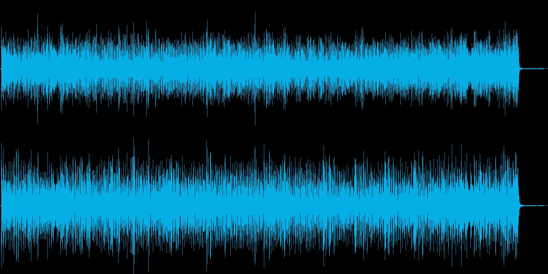 昔のアメリカっぽい楽しいラグタイムピアノの再生済みの波形