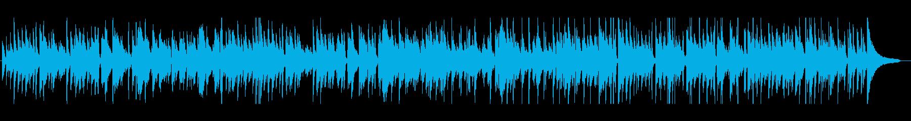心地よいスタンダードジャズの再生済みの波形