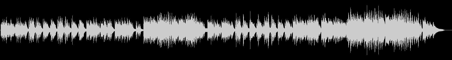 劇伴20A、ノスタルジック、ピアノ・ソロの未再生の波形
