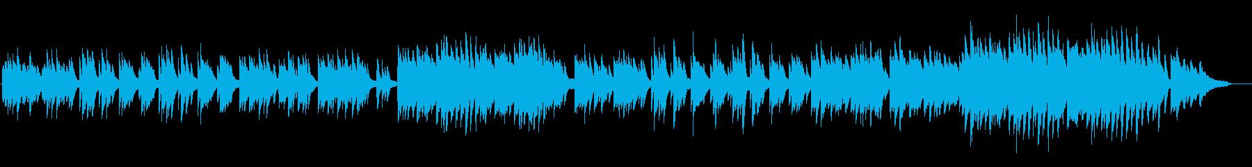 劇伴20A、ノスタルジック、ピアノ・ソロの再生済みの波形