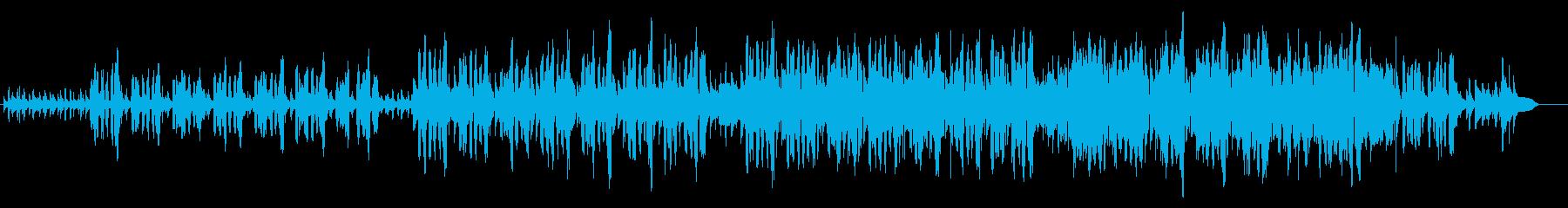 口笛が印象的な軽快なリラックスソングの再生済みの波形