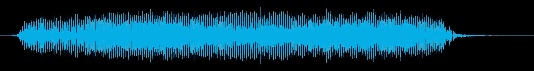 「ピィィーッ」サッカー試合開始時の笛の再生済みの波形