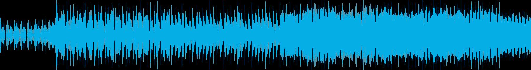 ゲームにマッチするBGMですの再生済みの波形