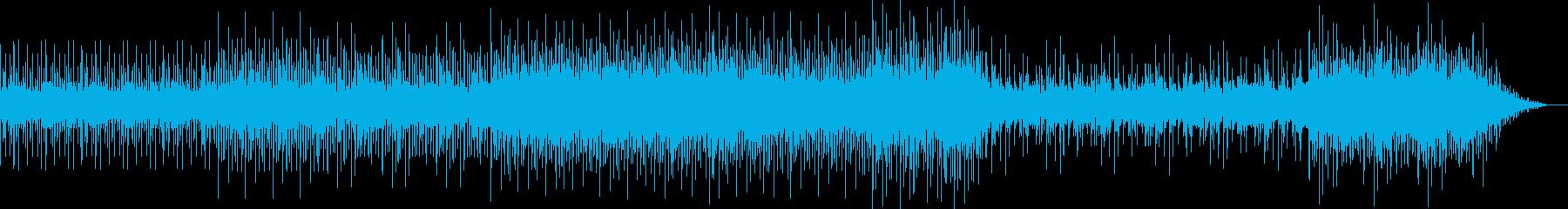 クールでアップテンポなポップスの再生済みの波形