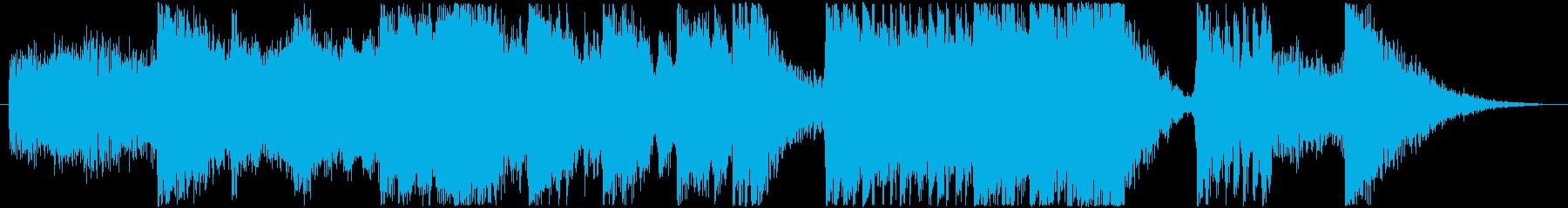 エレクトロ 交響曲 緊張感 野生 ...の再生済みの波形
