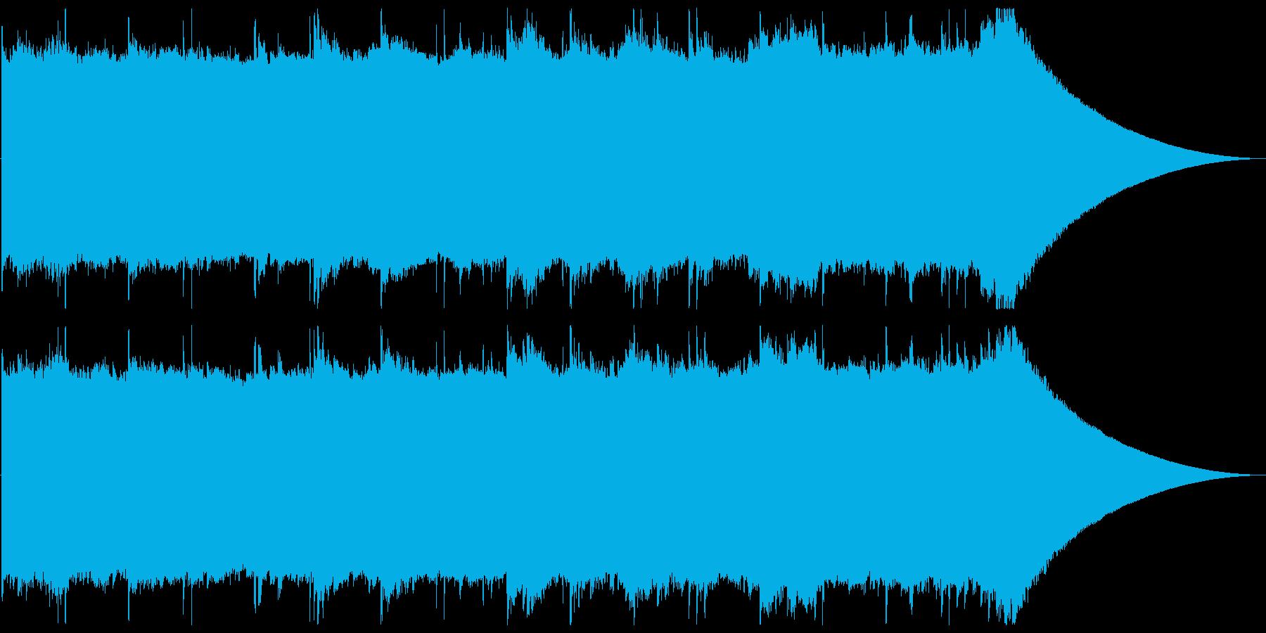 穏やかな目覚めのピアノチルアウトの再生済みの波形