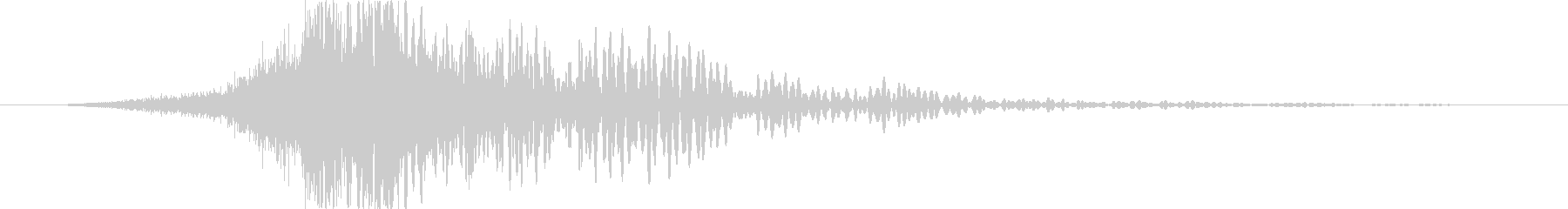 トランジション プロモーションパッド72の未再生の波形