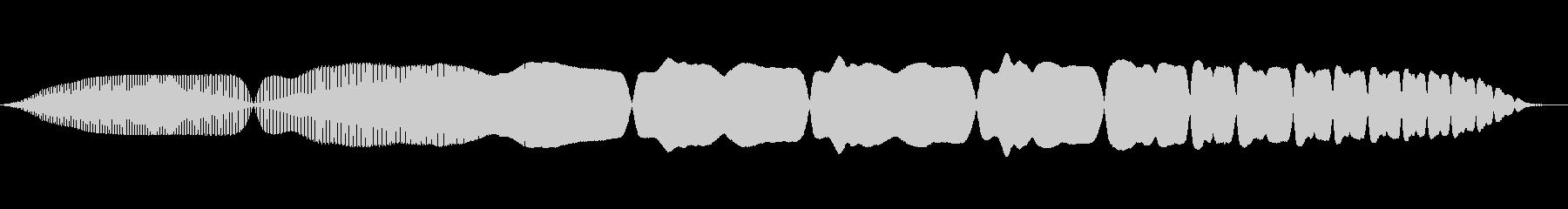 THEREMIN:ロング・スイープ...の未再生の波形
