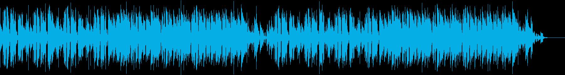 ドラムレスのリズムが印象的なポップギターの再生済みの波形