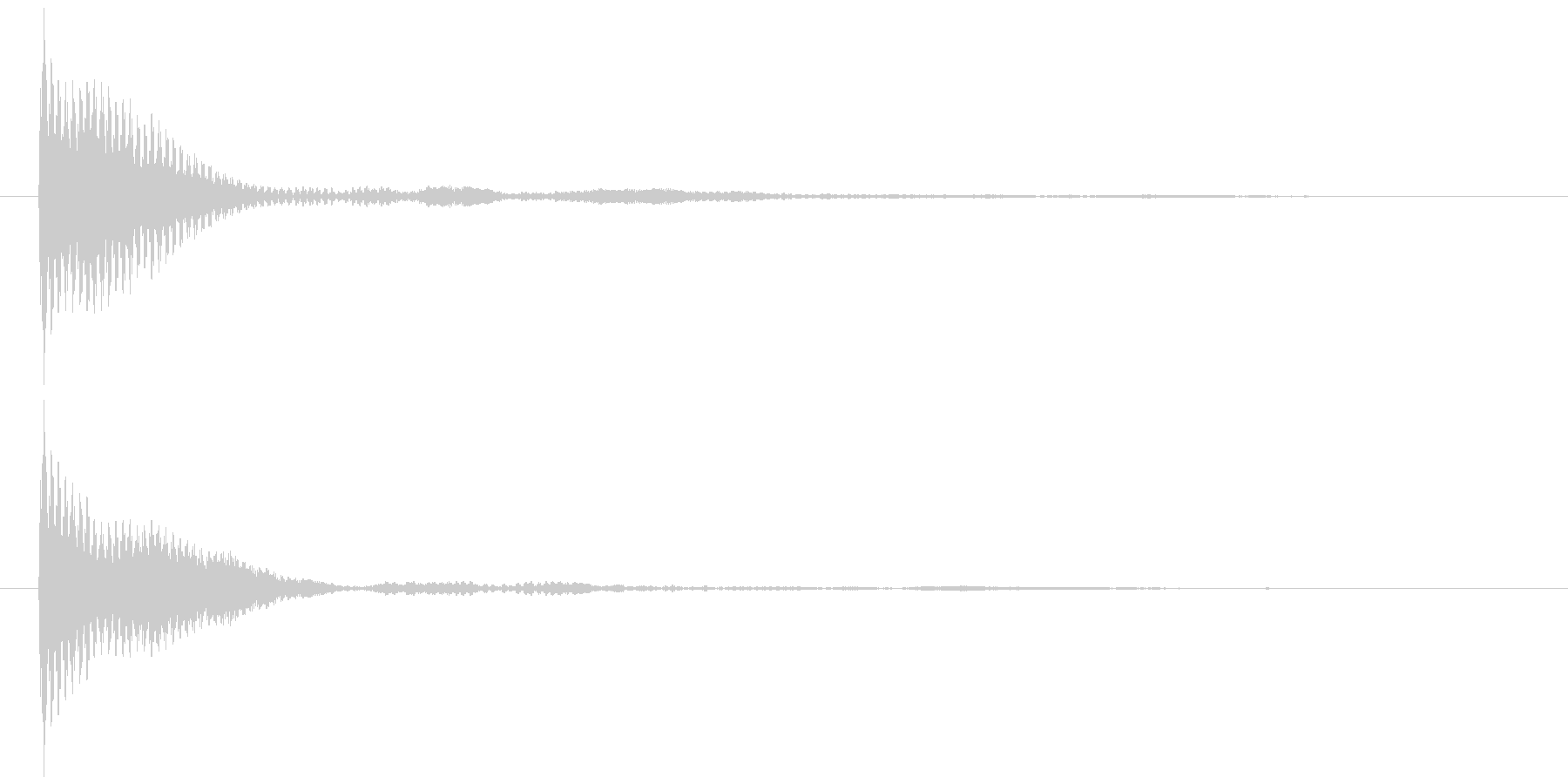 ポン カーソル音 タップ音 F#-07_の未再生の波形