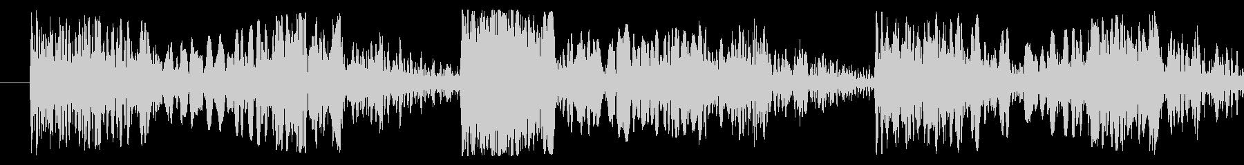 スクラッチ/DJの効果音!09の未再生の波形