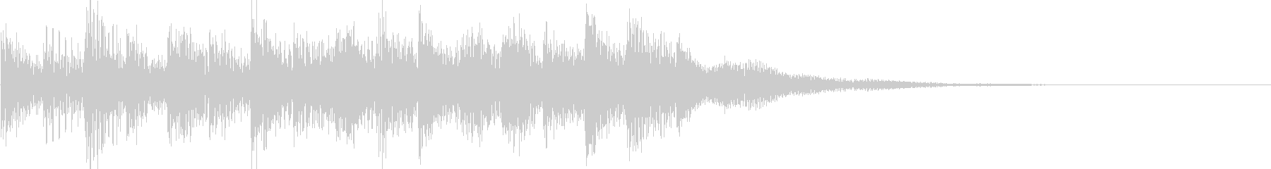 レベルアップ/回復音/場面転換の未再生の波形