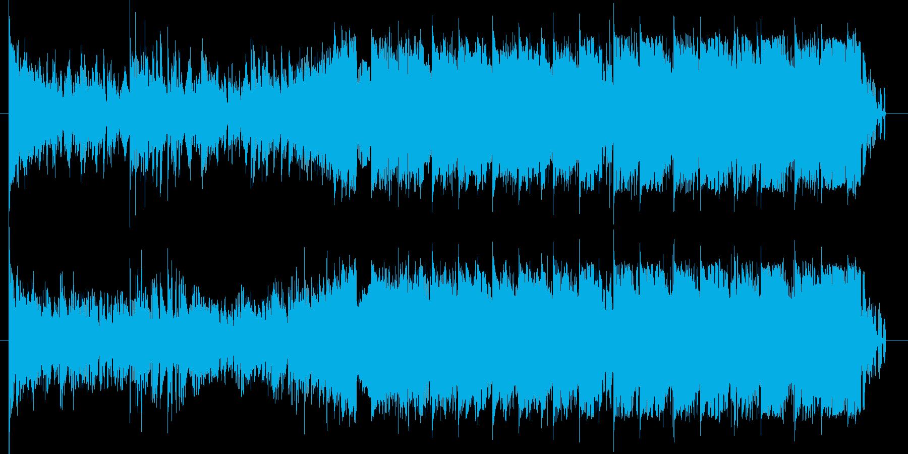 ダークで近未来的なEDMチューンの再生済みの波形