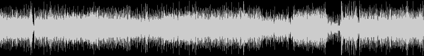 和風、三味線メタル2、激しい(声入り)Dの未再生の波形