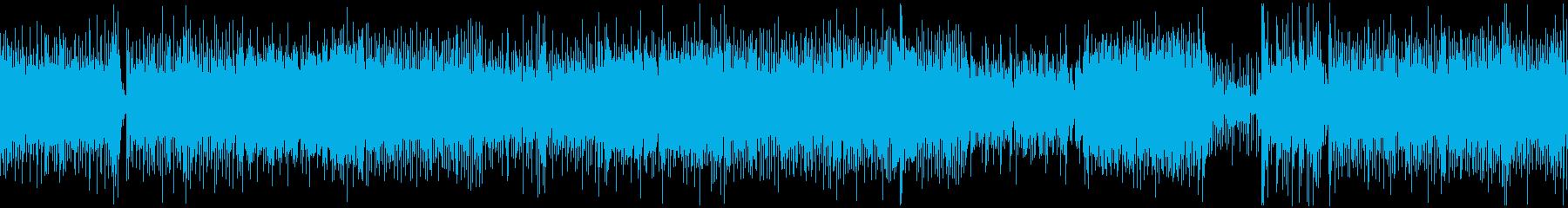 和風、三味線メタル2、激しい(声入り)Dの再生済みの波形