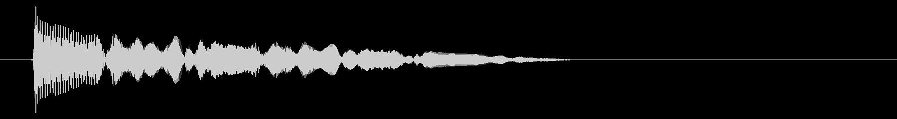 8ビット風システム音-11-4_dryの未再生の波形