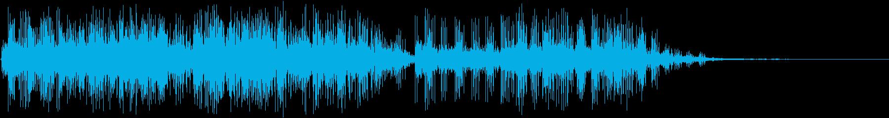 電気火炎アークバースト電気、アーク...の再生済みの波形
