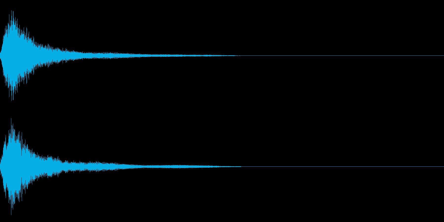 ホラー5(幽霊が現れる音)の再生済みの波形