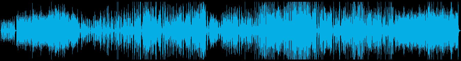 無機質は雰囲気で変拍子アップテンポの再生済みの波形